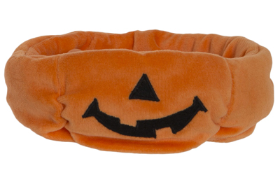Charlie Bears Halloween Treat Half Pumpkin